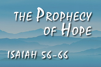 The Prophecy Of Hope
